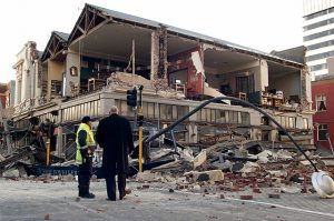 Új-Zéland - Földrengés