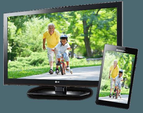 tévé és tablet