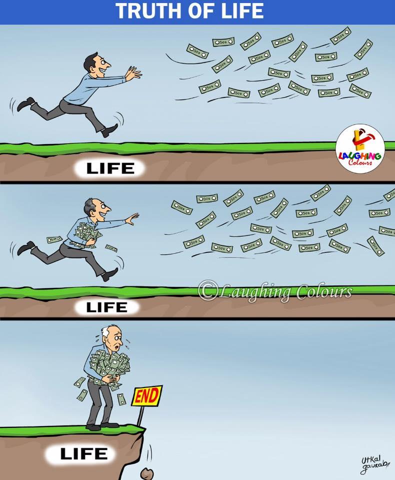 Life-End karikatúra